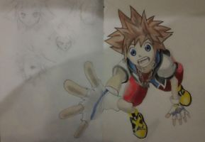 Kingdom Hearts - Sora by mhadjy