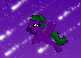 Flying through the night sky (RP starter) by LR-Studios