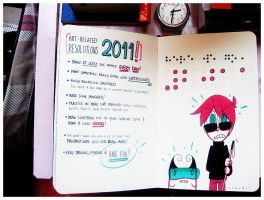 Resolutions for 2011 by kurisquare