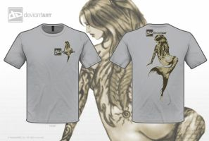 Tattoo Mermaid T by SYoshiko
