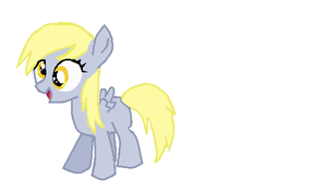 Derpy Hooves as a Filly by beckyfav23