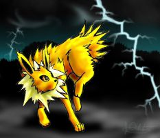 Jolteon by D34tHn0Te
