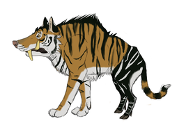 Tiger Boar Concept by Evelyn-Cross