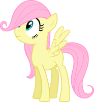 Filly Fluttershy by Ispincharles