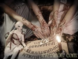 ouija hands by cannibol