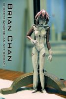 Rei Ayanami Origami by chosetec