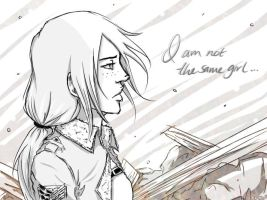 Not The Same Girl by ShOrtSh4dow