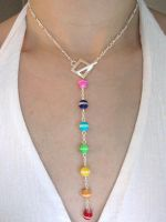 Toggle Chakra Necklace by lavadragon
