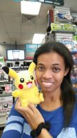 Me and Pikachu by 8TeamFriends8