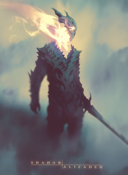 Dragon Soul by ShahabAlizadeh