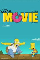 Simpsons Movie Poster by Crimson-Designs