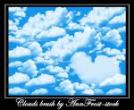 Clouds brush by AnnFrost-stock