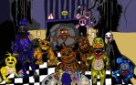 Five Nights at Freddy's 2 Finally Finished! :D by Elven-Nerevar