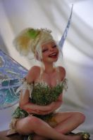 Tinkerbell laugh by SutherlandArt