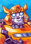 Bumblebee Sketch Card by Chad73