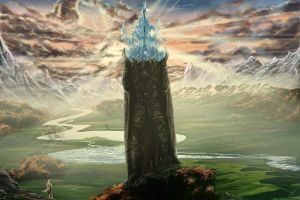 Castle Of Glass by maximustime
