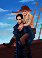 it's a pirate's life for Swan by inorheona