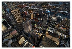 - view from Sydney Tower 02 - by robertodecampos