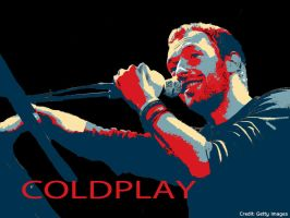 Chris Martin- Poster by Optimistic-Jamie
