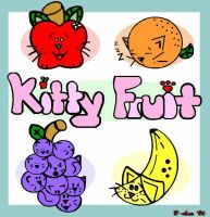 Kitty Fruit by bchan