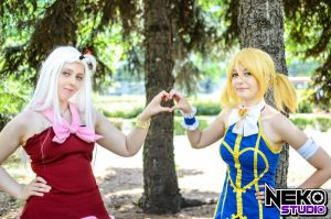 Friendship - Fairy Tail cosplay by amikoRoyAi