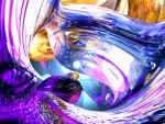 Loving Thoughts Abstract by AlexButler