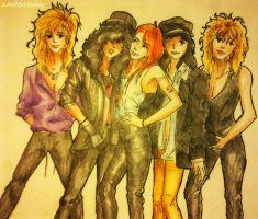 Guns N Roses by JulesDiamond