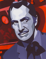 Vincent Price Abstraction by DeathT-2