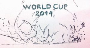 Doraemon Zu-Dora Rinho : Say hello to World Cup !! by doraemonbasil