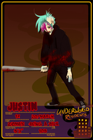 UR: Justin by Devilsflair