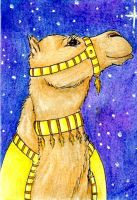 Gold Court Camel by karja