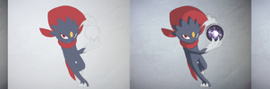 Weavile picture steps.