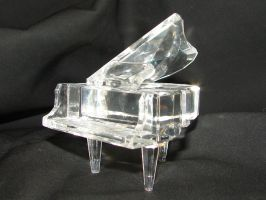 Crystal Grand Piano 5 by FantasyStock
