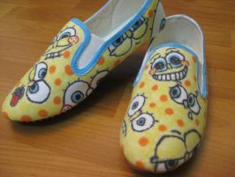Sponge shoes by RaZero0