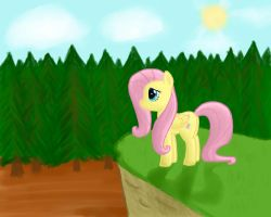 Fluttershy's Hill by chirin98