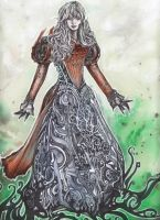 Bhavacakra Queen detail by Ondal-the-Fool