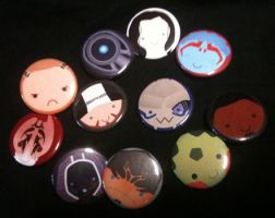 BUTTONS - Mass Effect 2 by Jadiekins