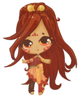 Tribal Chibi by InsignificantYeti