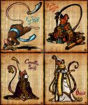 Egyptian Mice by Yumi-nou