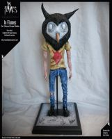 In Flames - Owlboy Sculpture (ASoP) by TheLandoBros