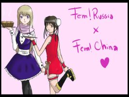FemRussia and FemChina finish by Arisa-desu