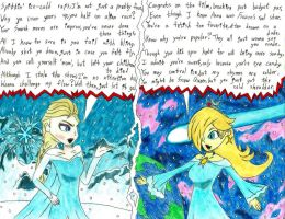 Rap Battle: Elsa vs. Rosalina by Mothralina95