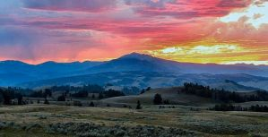Yellowstone Sunset 2 by MacroMagnificent