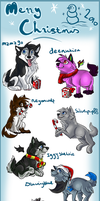 2010 xmas chibi gifts.1. by Chrizka