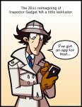 Inspector Gadget by Louistrations