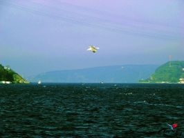 View from Sariyer to Anadolu Kavai by ugur274
