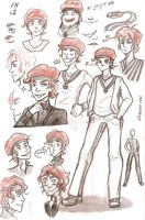 coach Salmons sketch dump by silverpen1431