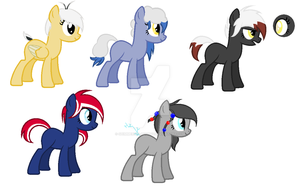 Adoptables :ONE LEFT: by Shimmering-Adopts