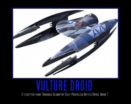 Star Wars The Clone Wars Vulture Droid Flight Mode by Onikage108
