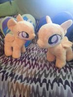 WIP Scootaloo plushies by inaligrimalkin